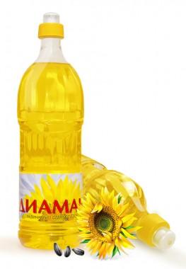 Слънчогледово олио Диамант 1 литър - Фулмакс гр. Пазарджик