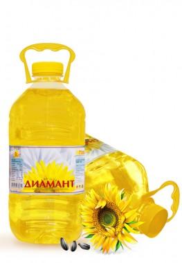 Слънчогледово олио Димамант - 3 литра - Фулмакс - гр. Пазарджик